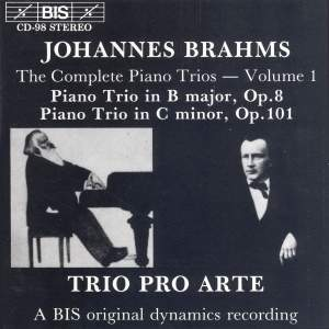 Brahms - Complete Piano Trios, Volume 1 Product Image
