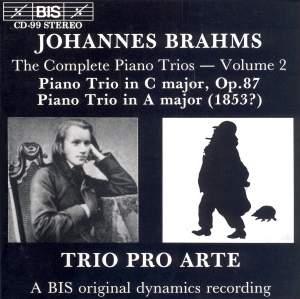 Brahms - Complete Piano Trios, Volume 2 Product Image
