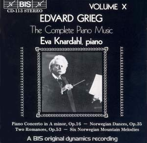 Grieg - The Complete Piano Music, Volume 10 Product Image