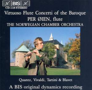 Virtuoso Flute Concerti of the Baroque