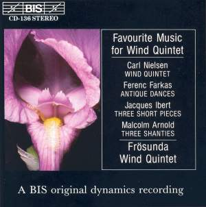 Favourite Music for Wind Quintet Product Image
