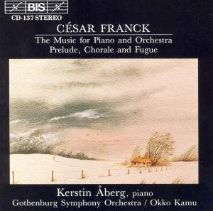 César Franck - Music for Piano and Orchestra