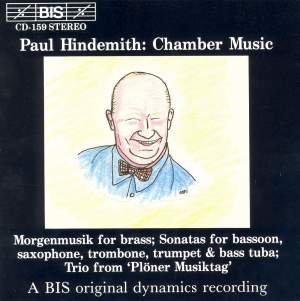 Paul Hindemith - Chamber Music Product Image