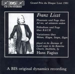 Liszt - Organ Music Product Image