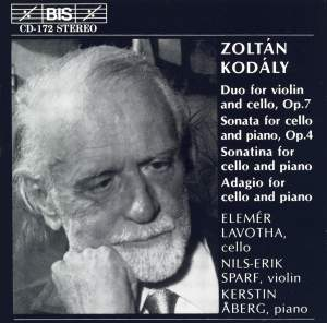 Kodály: Selected Chamber Music