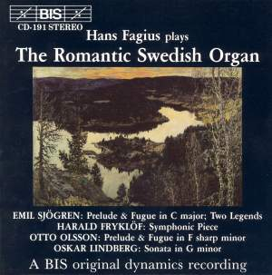 The Romantic Swedish Organ Product Image