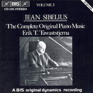 Sibelius - The Complete Original Piano Music, Volume 3 Product Image
