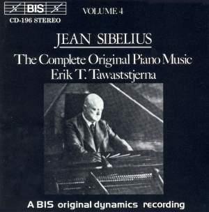 Sibelius - The Complete Original Piano Music, Volume 4 Product Image