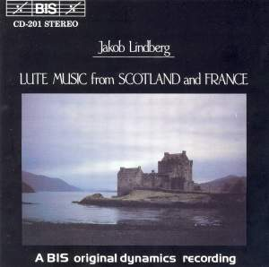 Lute Music from Scotland and France Product Image