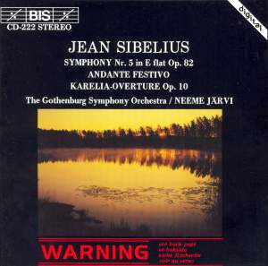 Sibelius: Orchestral Works Product Image