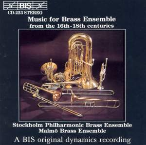 Music for Brass Ensemble from the 16th - 18th centuries Product Image