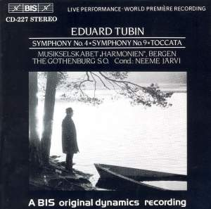 Tubin: Symphonies Nos. 4 & 9 Product Image