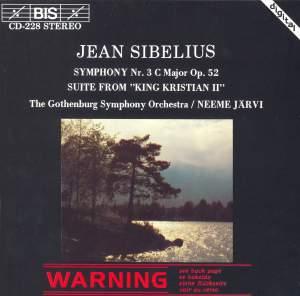 Sibelius: Symphony No. 3 & King Kristian II