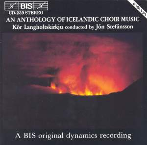 An Anthology of Icelandic Choir Music Product Image