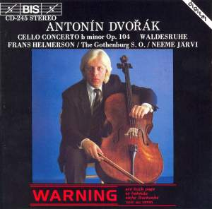 Dvorak: Cello Concerto & Waldesruhe Product Image