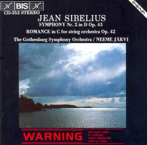 Sibelius: Symphony No. 2 & Romance Product Image