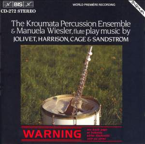Music for Percussion Ensemble and Flute Product Image