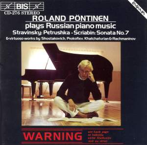 Roland Pöntinen plays Russian Piano Music Product Image