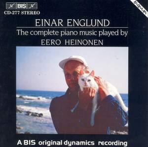 Einar Englund - Complete Piano Music Product Image