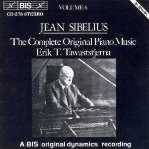 Sibelius - The Complete Original Piano Music, Volume 6 Product Image