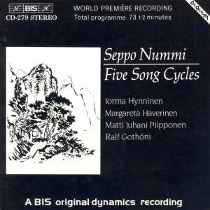 Seppo Nummi - Five Songs Cycles Product Image