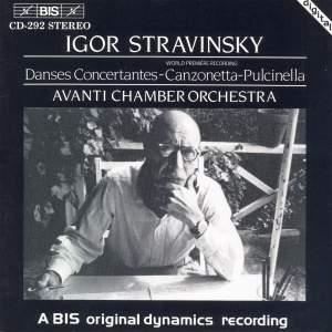 Stravinsky: Pulcinella Suite, etc.