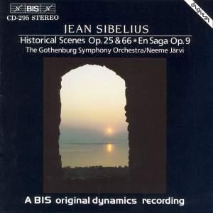 Sibelius - Historical Scenes Product Image