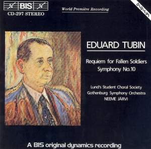 Eduard Tubin: Requiem for Fallen Soldiers & Symphony No. 10 Product Image