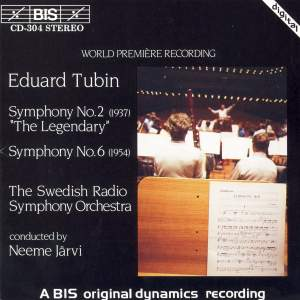 Tubin: Symphonies Nos. 2 & 6 Product Image