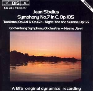 Sibelius: Symphony No. 7, Incidental music to Kuolema and Night Ride & Sunrise Product Image