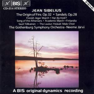 Sibelius: The Origin of Fire, Sandels & other works for male choir Product Image