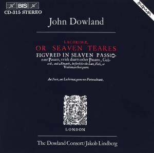 Dowland: Lachrimae, or Seaven Teares Product Image