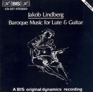 Baroque Music for Lute and Guitar Product Image
