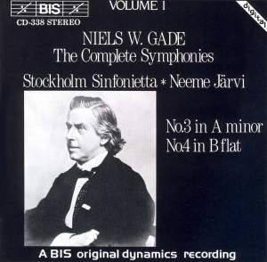 Niels W. Gade - Complete Symphonies, Volume 1 Product Image