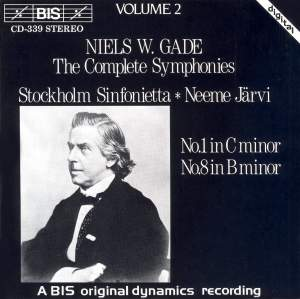 Niels W. Gade - Complete Symphonies, Volume 2 Product Image