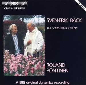 Sven-Erik Bäck - Solo Piano Music