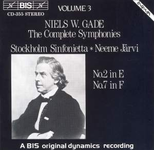 Niels W. Gade - Complete Symphonies, Volume 3 Product Image