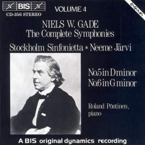 Niels W. Gade - Complete Symphonies, Volume 4 Product Image