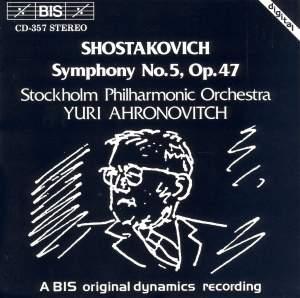 Shostakovich: Symphony No. 5 in D minor, Op. 47 Product Image