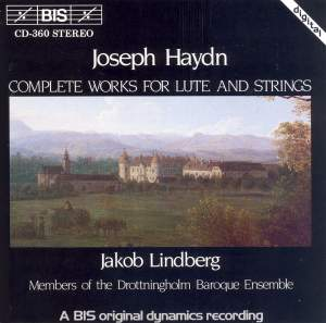 Joseph Haydn - Complete Works for Lute and Strings Product Image
