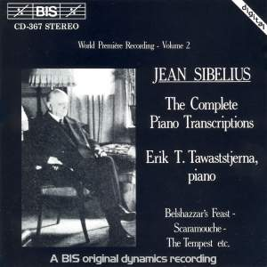 Sibelius - Complete Piano Transcriptions, Volume 2 Product Image