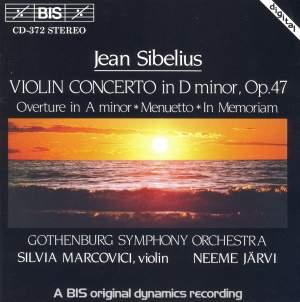 Sibelius: Violin Concerto, Overture in A minor, Menuetto, In memoriam Product Image