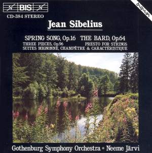 Sibelius: Spring Song, The Bard & other orchestral suites Product Image