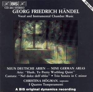 Handel - Vocal & Instrumental Chamber Music