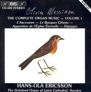 Messiaen - The Complete Organ Music, Volume 1 Product Image