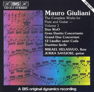 Giuliani - Complete Works for Flute and Guitar, Volume 1 Product Image