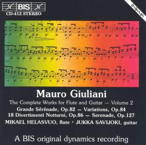 Giuliani - Complete Works for Flute and Guitar, Volume 2 Product Image
