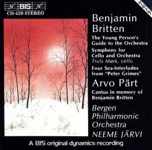 Neeme Järvi conducts Britten Product Image