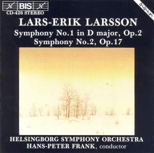 Larsson: Symphonies Nos. 1 & 2 Product Image
