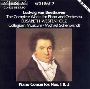 Beethoven - Piano Concertos Nos. 1 & 3 Product Image